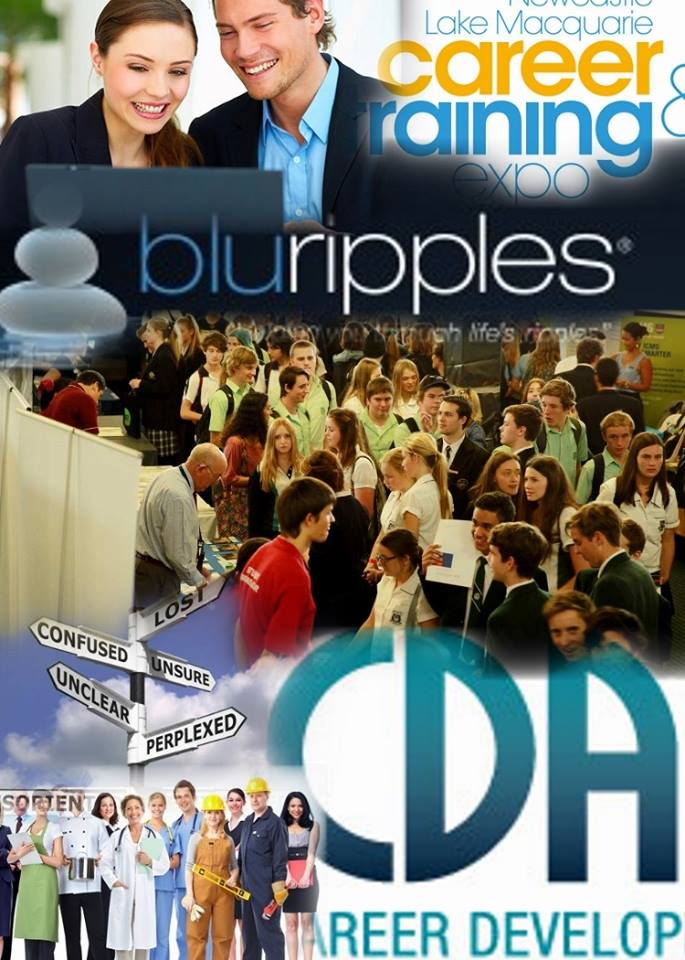 Blu Ripples will be at the 2015 Newcastle Lake Macquarie Career and Training Expo - 21 May 2015