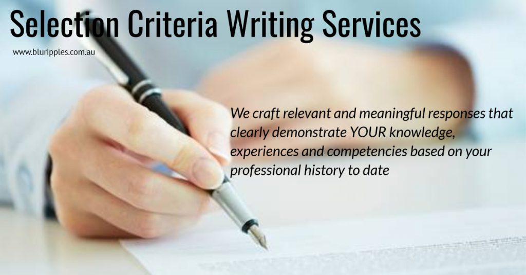 selection-criteria-writing-services