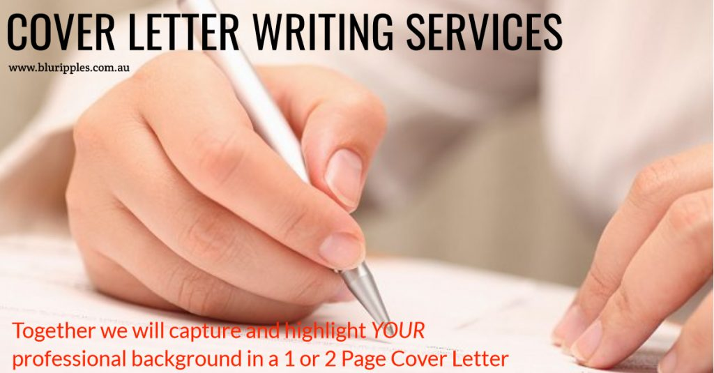 Blu Ripples Cover Letter Writing Services