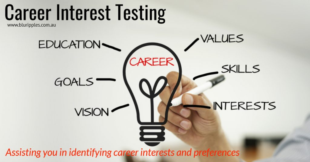 Career Interest Testing - Blu Ripples