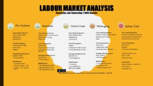 Blu Ripples Labour Markets Analysis-Comparing and Contrasting 5 NSW Regions