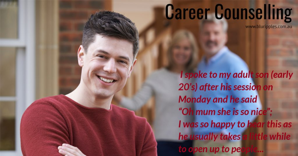 Career Counselling Lake Macquarie Newcastle - Youth - Young Adult - Blu Ripples