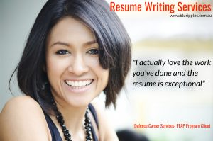 Resume Writing Services PEAP Program; Defence Career Counselling and Employment Services