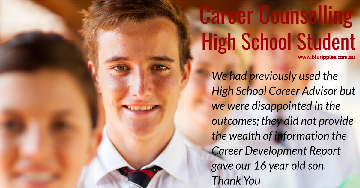 Career Counselling High School Student