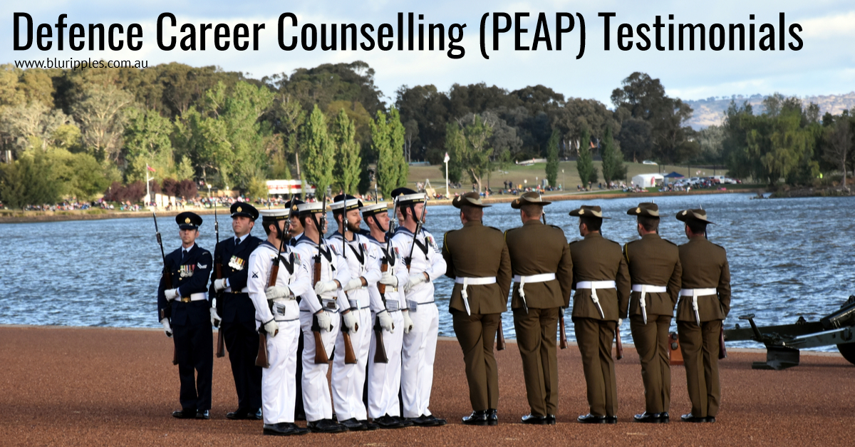 Defence Career Counselling Testimonials - PEAP Program