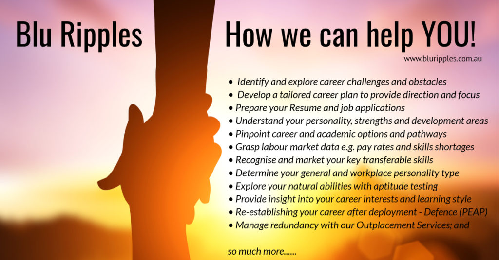 Blu Ripples Career Counselling - How We Can Help You